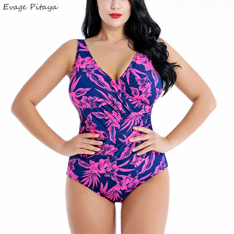 a3467050bdc Evage pitaya 2019 new swim suit women swimwear good quality Large size  padded high waist fathigh