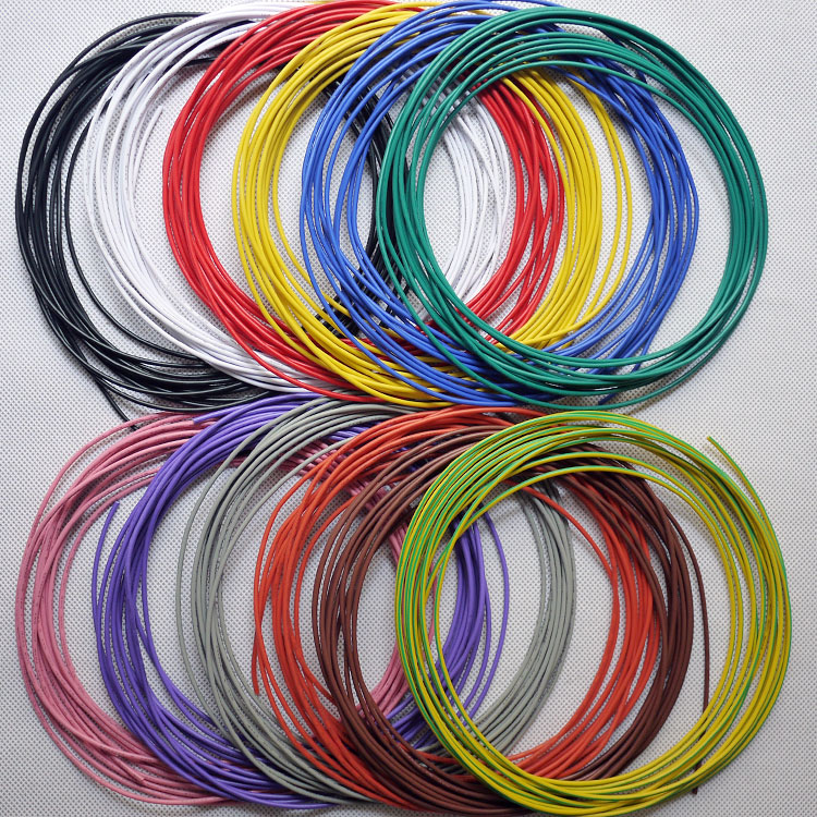<font><b>20AWG</b></font> PVC Insulated Tinned Copper Wire Environmental Electronic Wires Internal Wiring <font><b>UL1007</b></font> Free Shipping - 5 Meters image