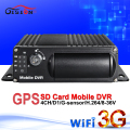 online 3g gps wifi car dvr ,4channel real time surveillance mobile dvr ,pc/ phone monitor ,video playback ,gps tracker mdvr