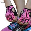 Top Quality Mulheres Luvas Ginásio Body Training Edifício Fitness Sports Levantamento de Peso Exercício Antiderrapante porta-Luvas Resistentes