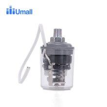 1/4NPT винт автоматический регулятор давления датчик 1.0bar до 1.8bar регулятор воды мониторы Переключатель 220 В насос подкачки запасные части