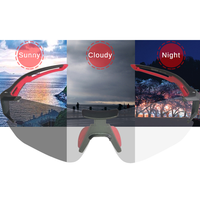 Photochromic Cycling Glasses with UV Protection