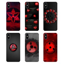 Silicone Phone Skin Cover For Samsung Galaxy Note 8 9 S9 S10 A8 A9 Star Lite Plus A6S A9S Naruto Sasuke Sharingan Eyes Art Print(China)