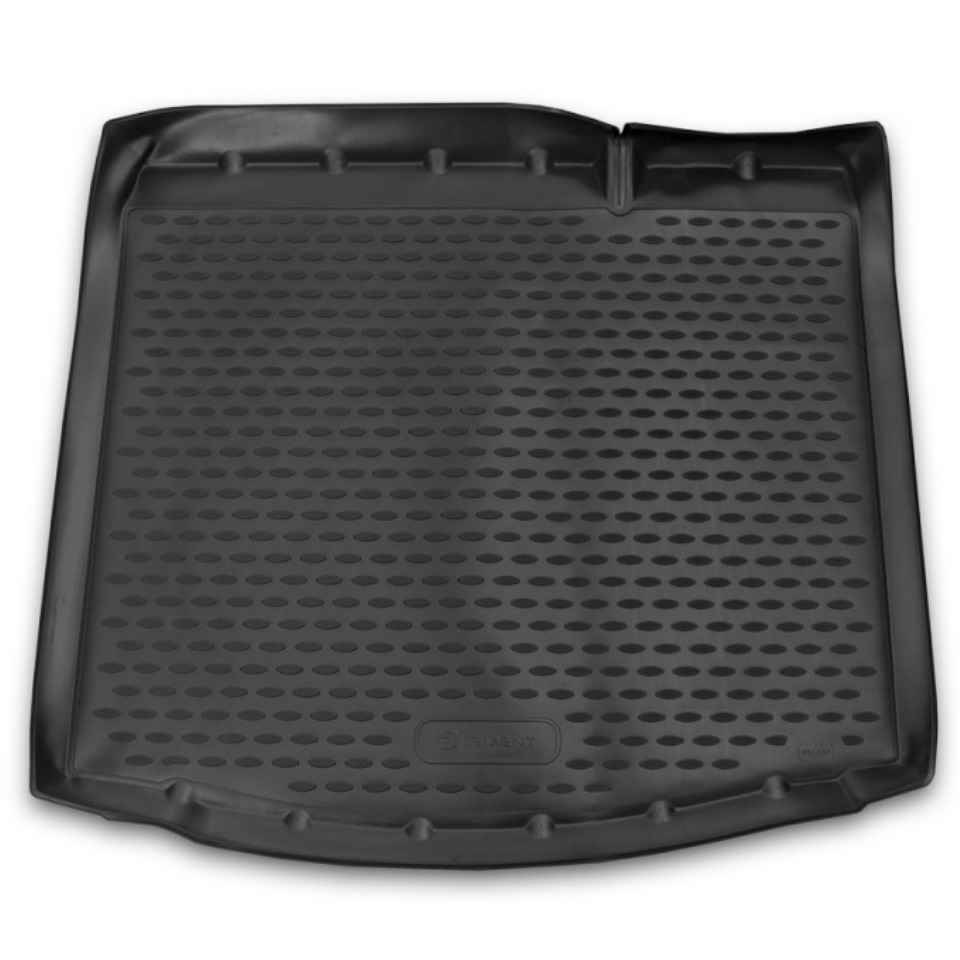 Car trunk mat for Lada Xray for equipment without raised floor Element ELEMENT5237B11 for lada vesta sw cross trunk mat for equipment with raised floor element element5249v12
