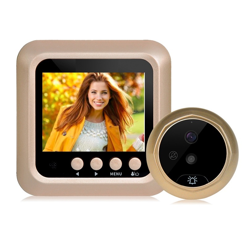 Door Bell video peephole wireless call camera door 2.4 inch TFT LCD IR Night Vision Photos Taking Video Recording door peepholeDoor Bell video peephole wireless call camera door 2.4 inch TFT LCD IR Night Vision Photos Taking Video Recording door peephole