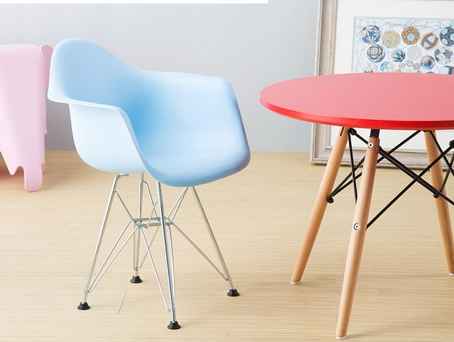 Modern Design Popular FREE SHIPPING Kids Plastic Arm Chair Children Modern  Dining Chair Baby Kids Armchair