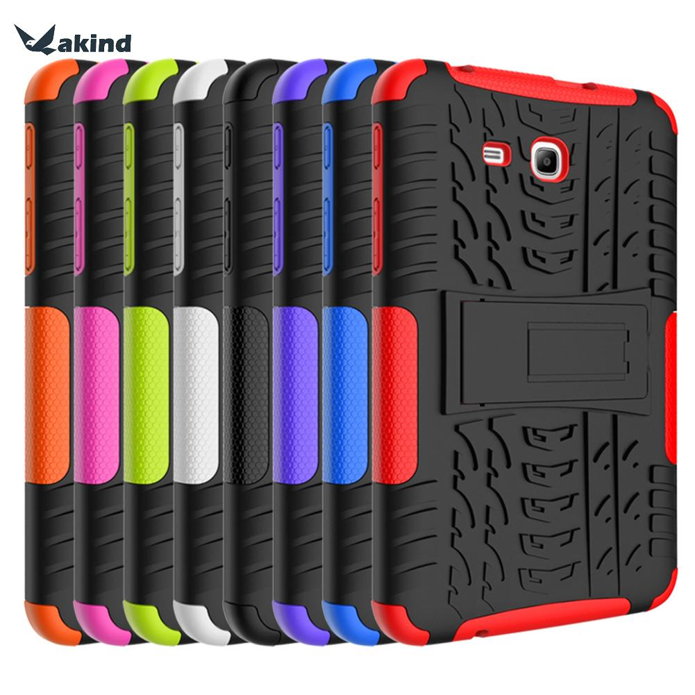 2 In 1 Heavy Duty Rubber Hard Case Cover Tab 3 Lite 7.0 inch T110 Dazzle Grain Protection Shell For Samsung Galaxy T111 T116