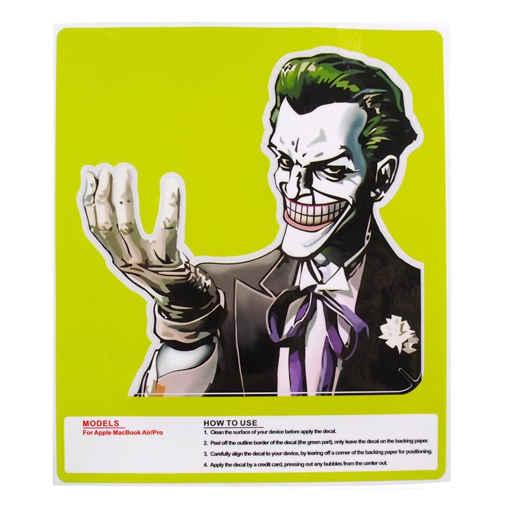 Personality vinyl decal protective laptop joker stickers for apple macbook air pro 13 inch in laptop skins from computer office on aliexpress com