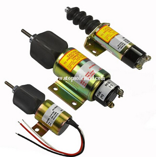 Stop solenoid 1500-2114 1502-12A2U1B2 shutdown engine купить