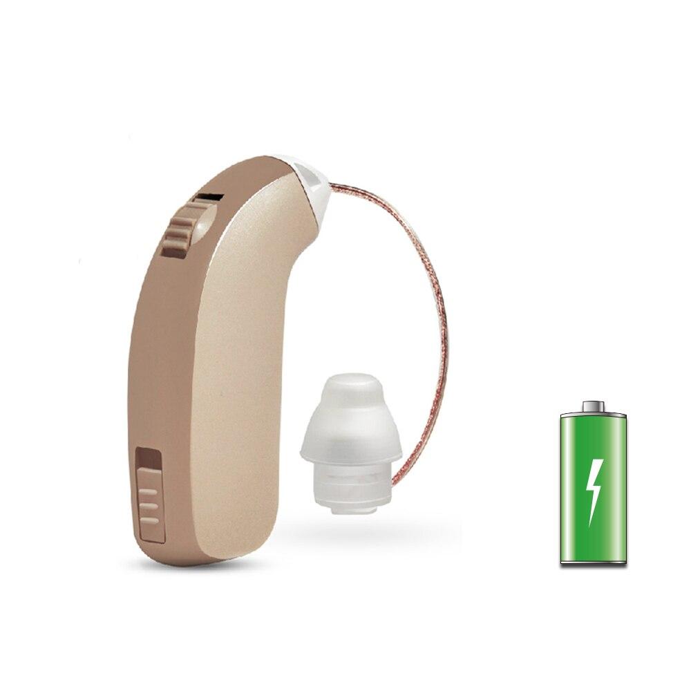 Audífono digital audiencia recargable Amplificadores ayuda del oído para los ancianos sordos hearing pérdida en comparación con Siemens audífonos