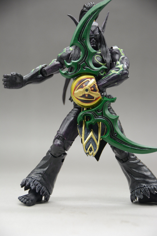 Game Heroes Of The Storm The Betrayer Illidan Stormrage 15cm Cartoon Toy PVC Figure Model Gift Free Shipping GS006 4