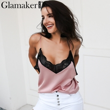 a13d03c6c5 Buy pink satin tank top and get free shipping on AliExpress.com