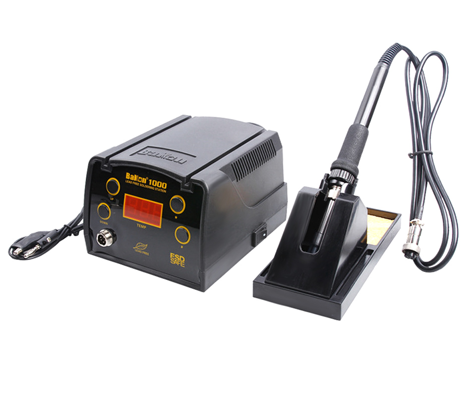BAKON BK1000 90W High Frequency Digital Soldering Station with Temperature Control System 10