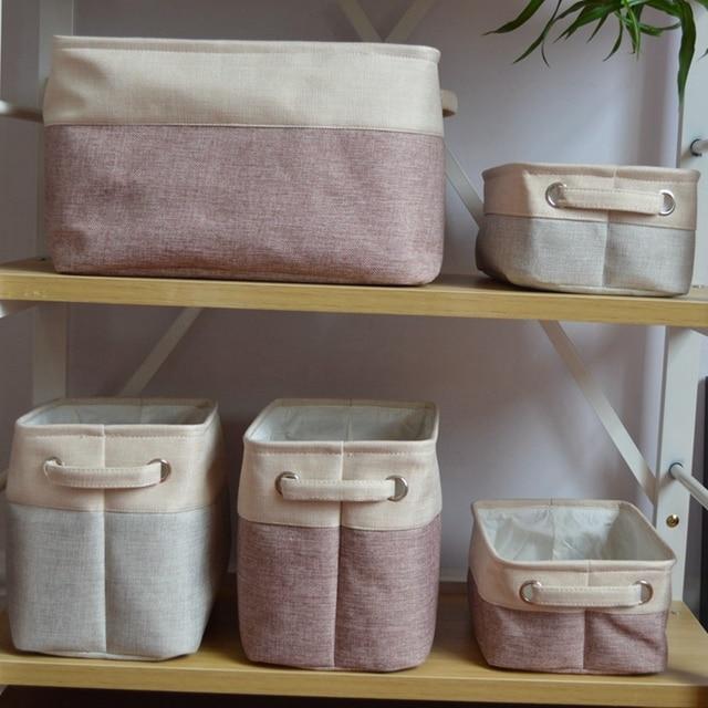 Disney Collapsible Storage Trunk Toy Box Organizer Chest: New Hot Nylon Folding Storage Bag Basket Organizer Kids