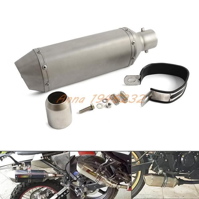 Silenciador Do Escape Universal 38-51mm Com DB Assassino Para A Sujeira/Bicicleta Da Rua Scooter ATV Quad Moto