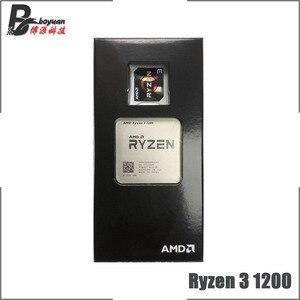 Image 2 - AMD Ryzen 3 1200 R3 1200 3.1 GHz 4 Nhân Quad Chủ Đề Bộ Vi Xử Lý CPU L2 = 2M l3 = 8M 65W YD1200BBM4KAE Ổ Cắm AM4 Mới Và Có Quạt