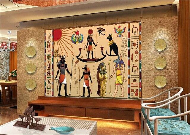 Kundenspezifische große wandbilder, Alten Ägypten Feier, hotel ...