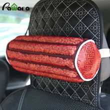2017 New Natural Seed Neck Pillow Office Car Rest Pillow Hawthorn Seed Plant Pillow For Car Safety Message Neck Healthy Care