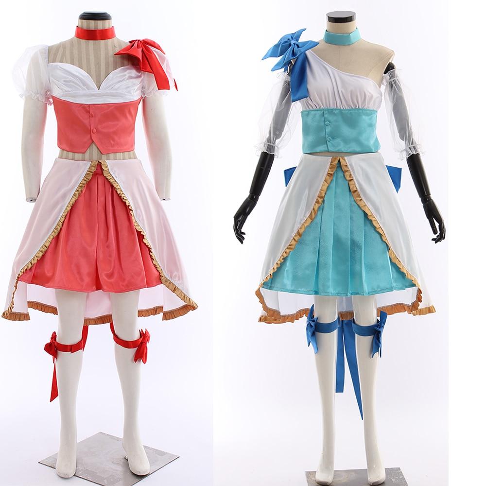 Cosplaydiy Custom Made Anime Magical Girl Ore Sakuyo Mikage Costume Magical Girl Ore Saki Uno Male Cosplay Costume L320