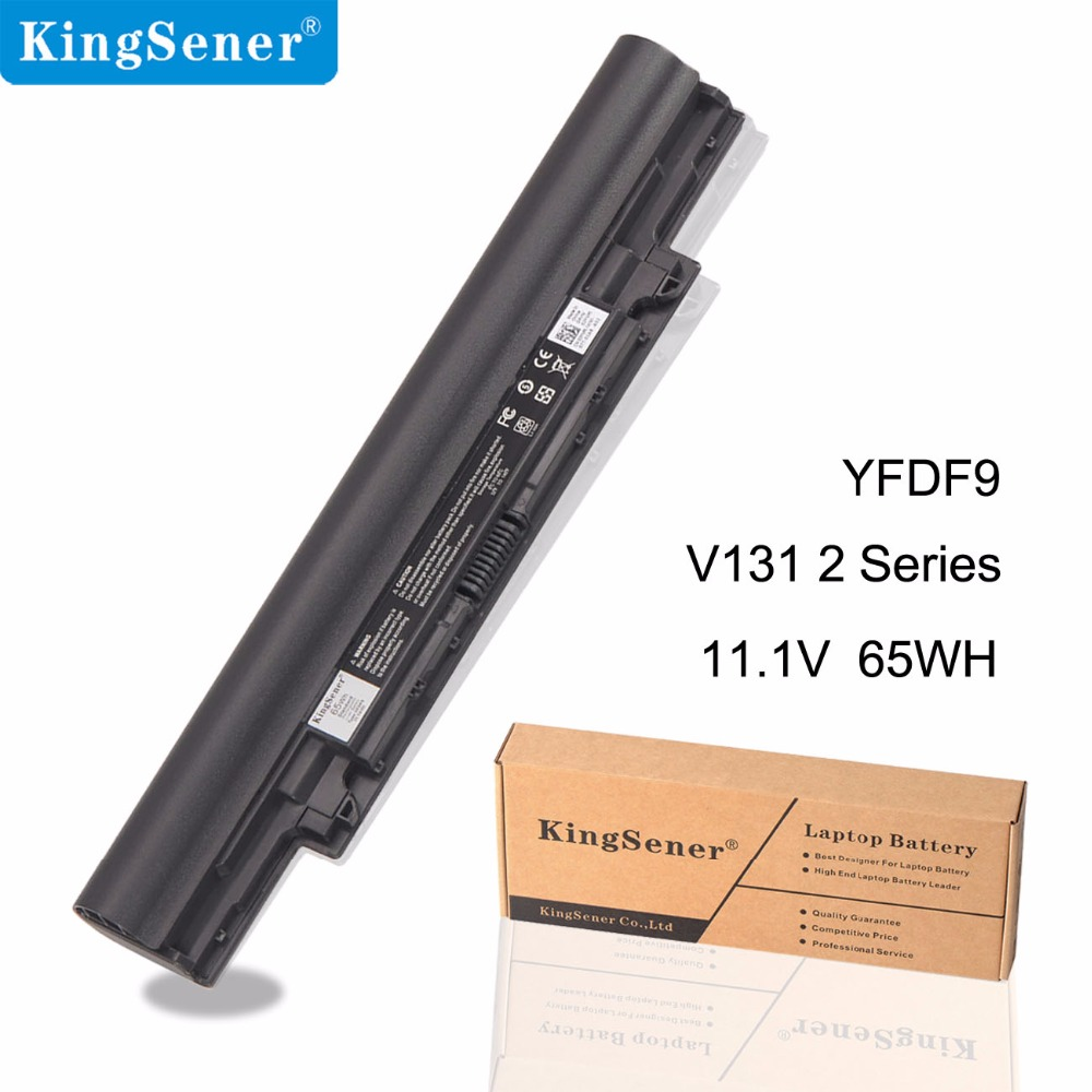 KingSener New YFDF9 Laptop Battery For DELL Latitude 3340 3350 V131 2 Series JR6XC 5MTD8 YFOF9 HGJW8 VDYR8 7WV3V H4PJP 65WH