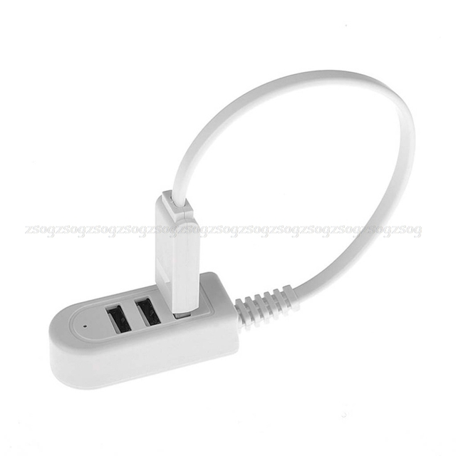 High Speed 3 Ports USB 2.0 Hub Extension Splitter for Laptop PC Computer Charger JUN14 dropship