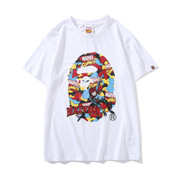 2019 New Arrival Bape Kids By A Bathing Ape Short Casual O neck Print Knitted Men&women T shirts A007