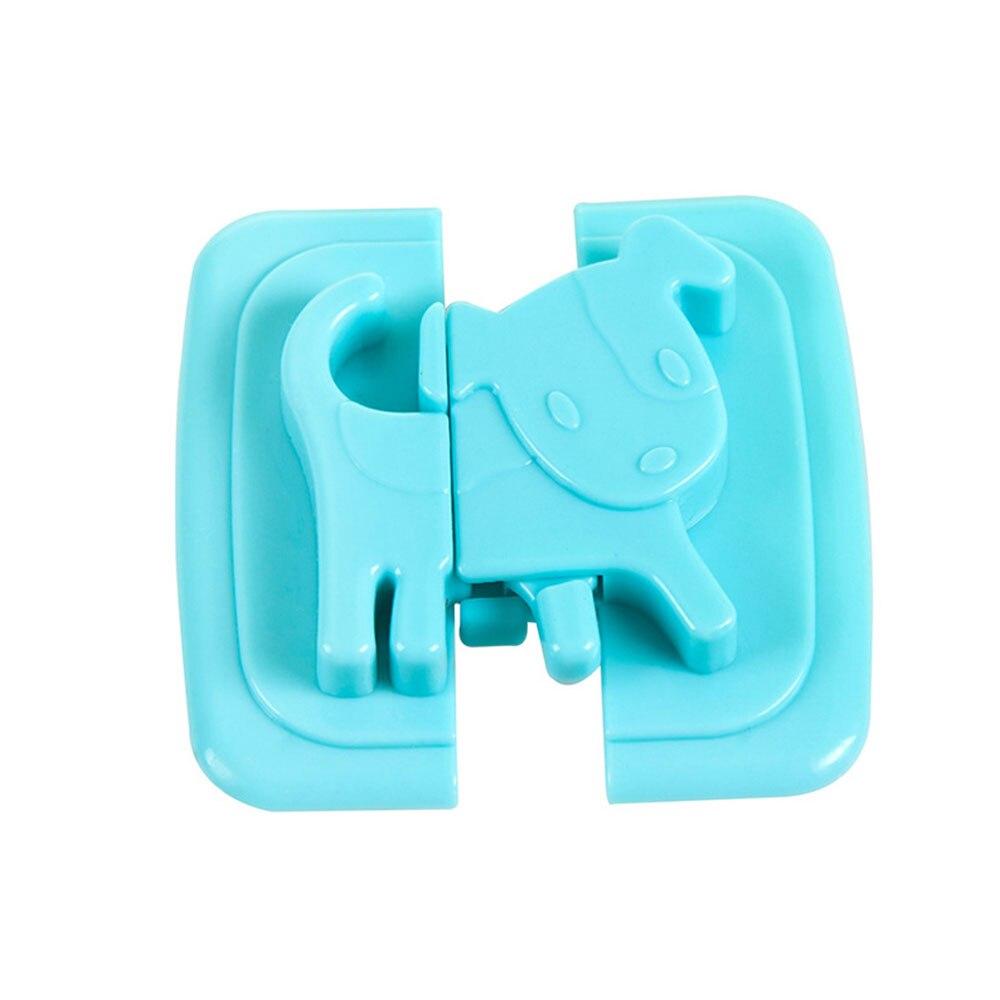 Замок холодильника Детская безопасность замок блокирующий замок для шкафа 4 цвета шкаф шкафы дома многофункциональный шкаф для младенцев - Цвет: blue