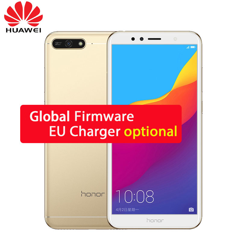 Original Huawei Honor 7a Play 2gb 32gb Snapdragon 430 Octa Core 5.7 Inch Front 8.0mp Rear 13.0mp 720p 3000mah 2sim Gps Wifi