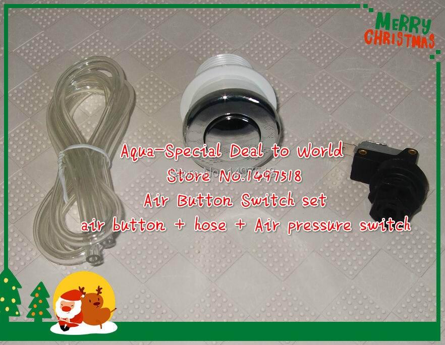 Bain à remous/pompe équipement de déchets alimentaires interrupteur à bouton d'air micro interrupteur, pressostat d'air