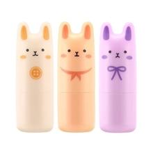 Original Korea Cosmetic Pocket Bunny Perfume Bar 9g 3 Fragrance Women Perfume Deodorant Non-alcoholic Fragrance Cream 1pcs