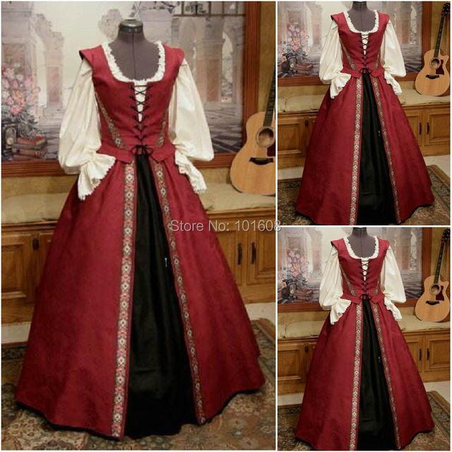 Online Shop Historical Customer-made 17 Century Vintage Costumes ...
