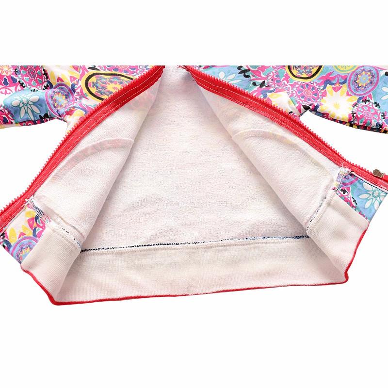 New Baby Coats Print Boys Girls Jackets Spring Autumn V Neck Cardigan Coat Fashion Infant Cotton Coat 7-24 Months Baby Clothing (5)