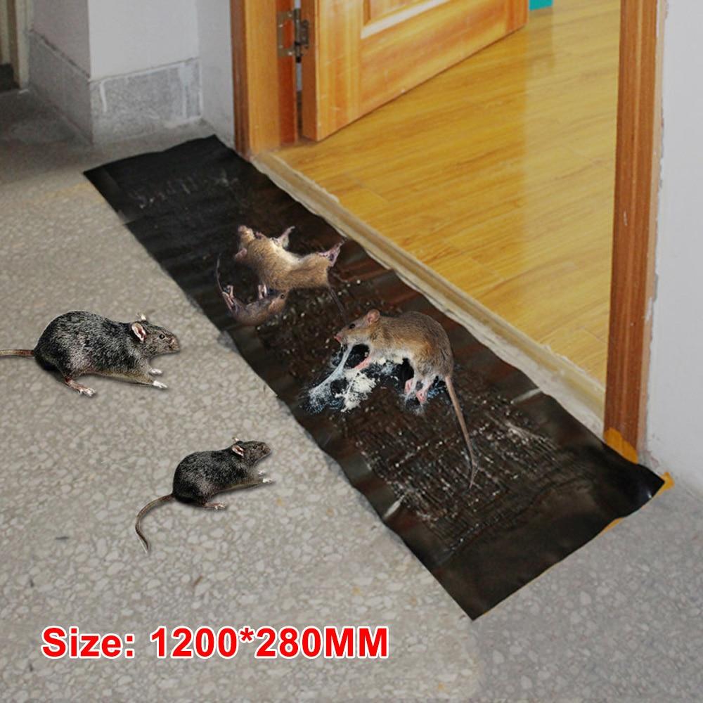 1.2M Mousetrap Efficient Sticky Mouse Board Super Strong Big Rat Paste Household Mousetrap Rat Poison Rat Glue Boards