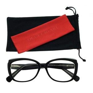 Image 4 - OCCI CHIARI oprawki do okularów okulary kobiety jasne soczewki na receptę medyczne okulary optyczne rama óculos Lunettes Gafas W COLOTTI