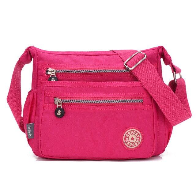 551f6e00781ba Casual Large Pocket clutch Tote Women's Handbag Shoulder Crossbody Handbags  Canvas Leather Capacity bags for women 2018