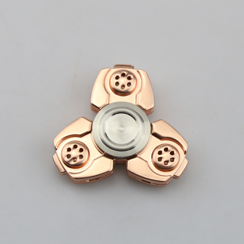 3-5 Minutes Fidget Spinner Toy Hand Spinner Metal Tri-Spinner Spinning Stress EDC Toys  For Autism and ADHD