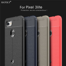 For Cover Google Pixel 3 Lite Case Capas Silicon Leather Bumper Phone