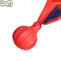 Dog Chew Toy TPR Chất Liệu Blue Red Nha Khoa Xoa Bóp Đồ Chơi Cho Pet Đào Tạo Chống cắn Mol Sạch Mọc Răng bóng
