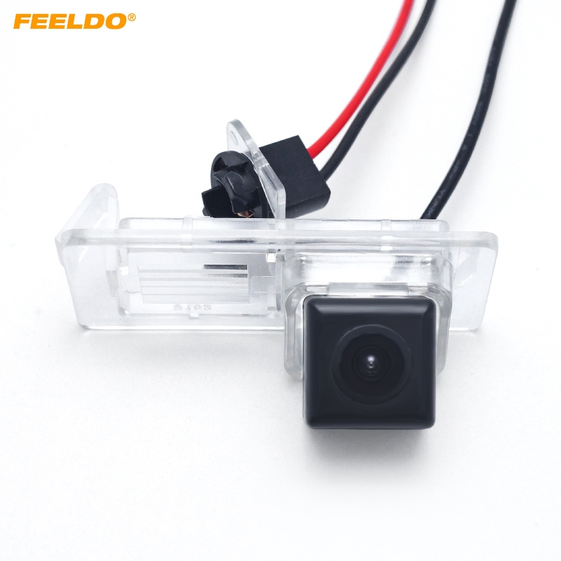 FEELDO Promotion sale !! Car Backup Rear View Camera For Renault Fluence/Dacia Duster/Megane 3/Nissan Terrano #FD4505