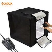 Godox Mini LED Photography Studio Shooting Tent 80*80*80cm LST80 3PCS LED lamp band Power 60W 13500~14500 Lumen with Carry Bag