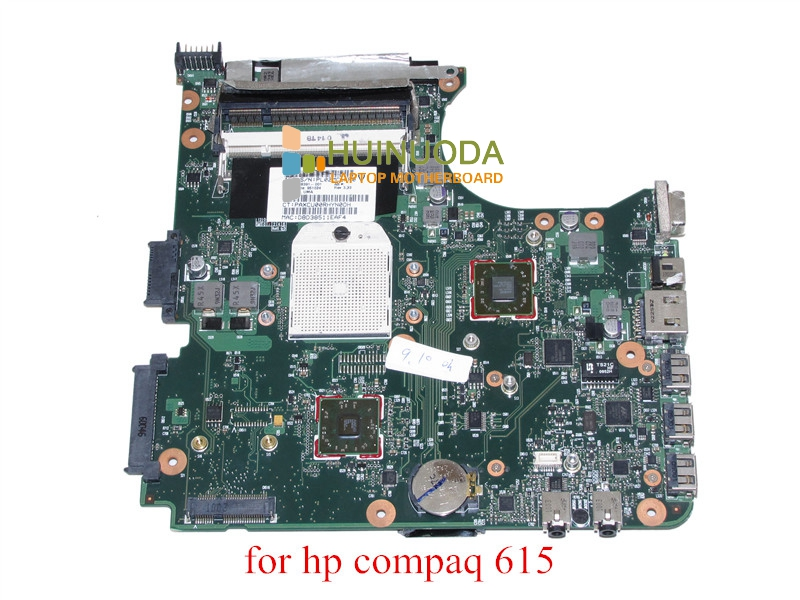 SPS 538391-001 For hp compaq 515 615 CQ515 CQ615 Laptop motherboard DDR2 cq515 integrated motherboard for h p cq515 538391 001