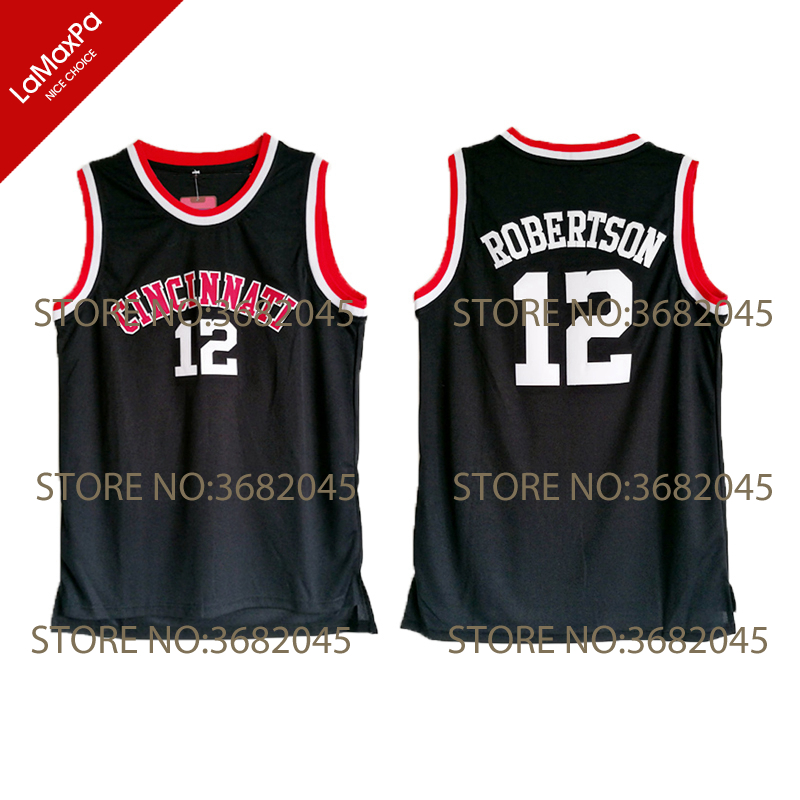 Цинциннати UC Колледж Bearcats Ретро Одежда высшего качества рубашки для Для мужчин дешевые возврат большой о Oscar Робертсон баскетбольные майки ...