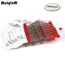 Free shipping 1W Zener diode kit DO-41 3V-30V 15values*10pcs=150pcs