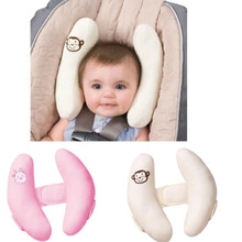 soft Infant baby adjustable protection pillow head neck support fitted car seat stroller accessories pram capsule christmas gift