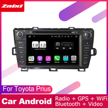ZaiXi For Toyota Prius 2009~2015 Car Android Multimedia System 2 DIN Auto DVD Player GPS Navi Navigation Radio Audio WiFi цена