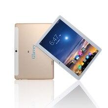 Tabletas de 10.1 Pulgadas 3G Android 6.0 Phablet PC Tab IPS Pad 1280×800 MTK6582 Quad Core 1G + 16G Dual SIM Tarjeta WIFI Bluetooth GPS de Metal