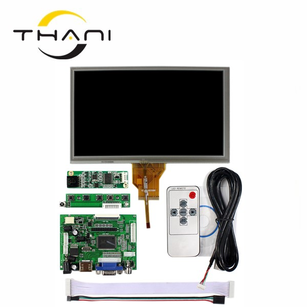 7.0 inch Raspberry Pi AT070TN90 LCD Touch Screen Display TFT Monitor AT070TN90 V.1 Touch screen Kit HDMI VGA Input Driver Board skylarpu 7 raspberry pi lcd touch screen display tft monitor at070tn90 lcd display touchscreen kit hdmi vga input driver board