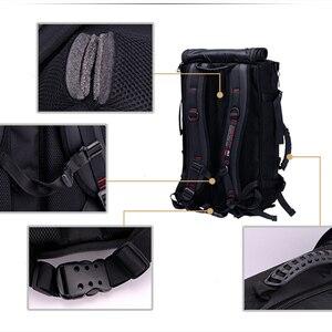 Image 5 - كمبيوتر محمول على ظهره 17 18 بوصة حقيبة لابتوب 17.3 15.6 14 بوصة في الهواء الطلق حقيبة السفر الكبيرة الكتف الرجال حقيبة سعة متعددة الأغراض