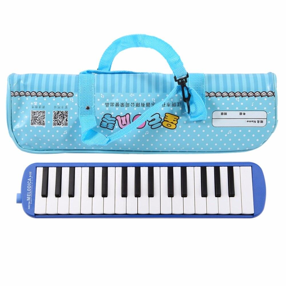 32 Teclas de Piano de Música Melódica Instrumentos Principiantes Instrumento Ens