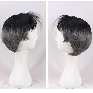 Image 2 - Nova chegada voltron: lendário defensor shiro peruca voltron lendário defensor anime cosplay cabelo adereços homens vendas quentes + peruca boné